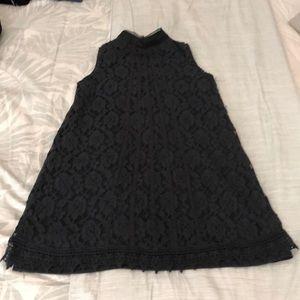 Black Mini Lace Dress